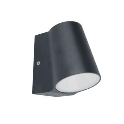 SIMORE WALL ΦΩΤΙΣΤΙΚΟ LED ΤΟΙΧΟΥ 6W ΓΚΡΙ 3000K ( LG0509G )