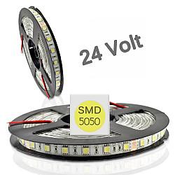 ΤΑΙΝΙΑ LED ΣΥΚ.5M 16W 24V/DC 1840LM/M IP66 4000K 120LED/M OSRAM SHIP ( 24168040PC )