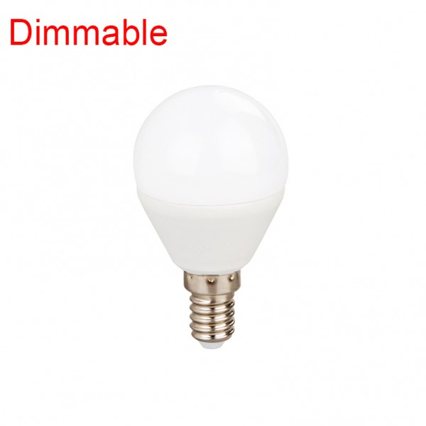 ΛΑΜΠΑ DIMMABLE LED BALL 5.5W E14 3000K (B1455WWDIM)