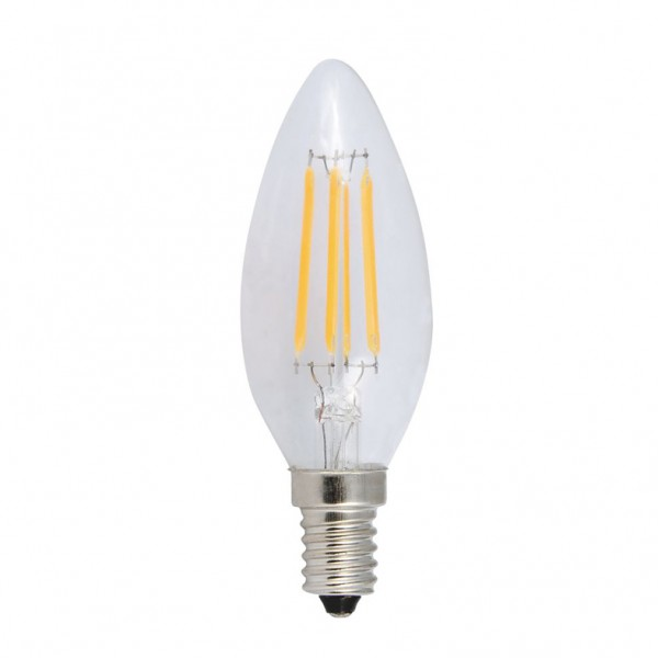 ΛΑΜΠΆ LED FILAMENT DECOR 4W E14 410LM 4000Κ ( DECO4NW )