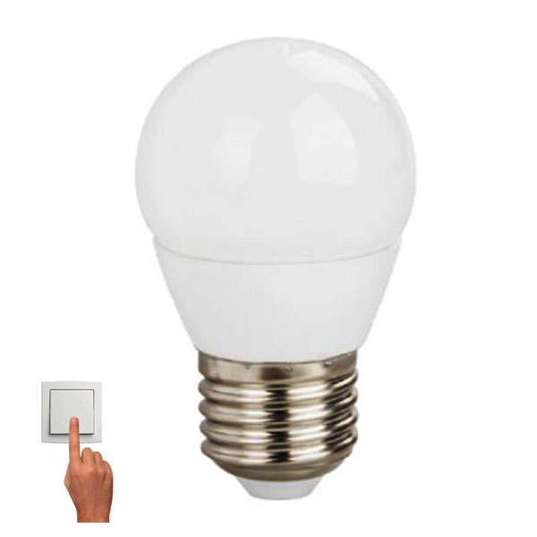 ΛΑΜΠΑ LED STEP DIMMABLE BALL 5W E27 230V 4000K (G45527NWSD)
