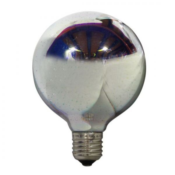 ΛΑΜΠA LED 3D DIMMABLE GLOBE 4W E27 2700Κ ( GLOBE95DIM3D )